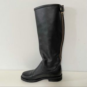 Roots moto leather biker style high boots